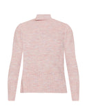 Montserrat Blush Mock Neck Sweater