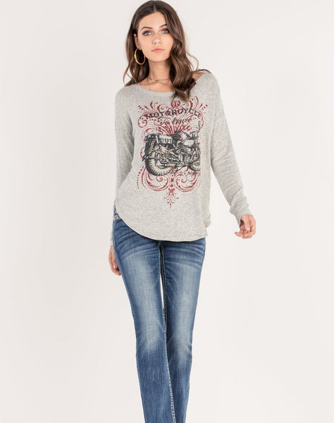 Motorcycle Graphic Top