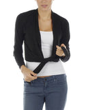 Ms203 - Cropped Tie Jacket