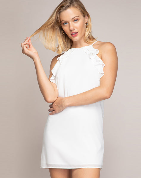 Natalia Ruffle Dress