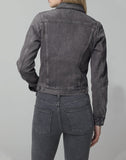 Nica Slim Jacket In Smoke