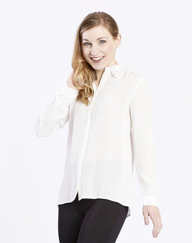 Novelty Collar Blouse