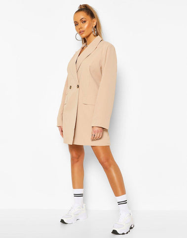 Oversized Boyfriend Blazer Dress