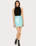 Paillettes Modern Mini Skirt