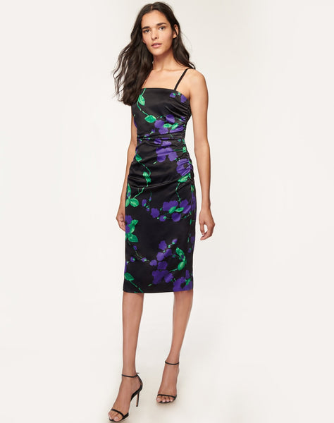Painted Floral Dayna Dress