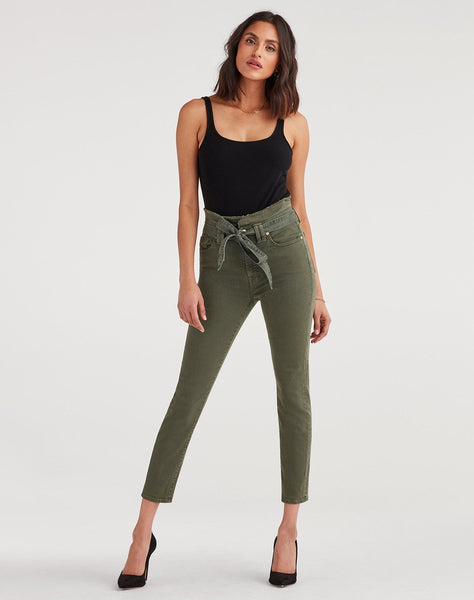Paperbag Jean in Army
