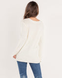 Pearl Accent Sweater