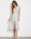 Pershing Square Wrap Dress