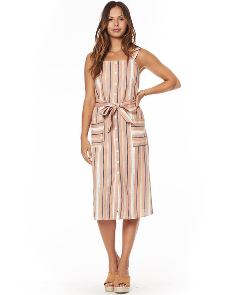 Pleasure Harbor Midi Dress