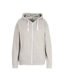 Plus Oversized Basic Zip Through Hoodie