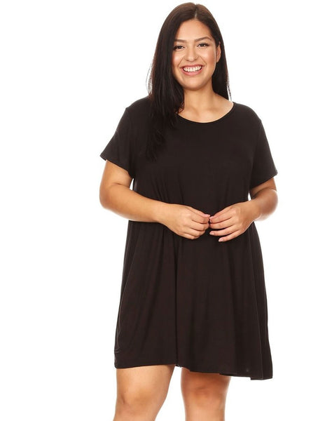 Plus VIBE Swing Dress
