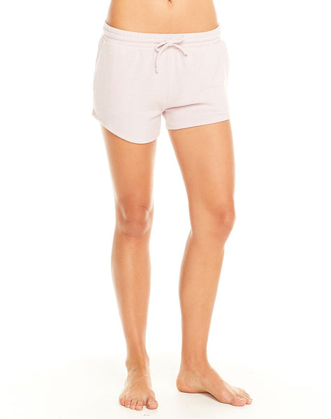 Cozy Knit Drawstring Waist Shorts W/ Pockets
