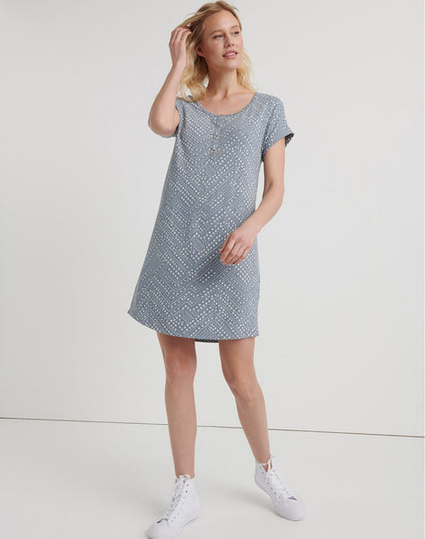 Polka Dot T-shirt Dress