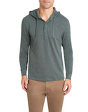 Ponderosa Pine Slub Cotton Hooded Henley