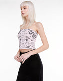 Radiant Bandana Gia Top  |  Rose