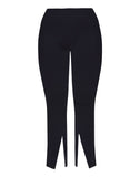 Reese High Rise Straight Front Slit Super Stretch Ponte