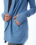 Rib Sleeve Eco-Jersey Wrap