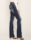 ROAM AROUND SLIM BOOTCUT JEANS