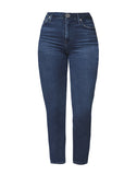 Rocket Crop Mid Rise Skinny Fit In Glory
