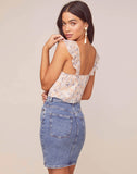 Rue Floral Crop Top