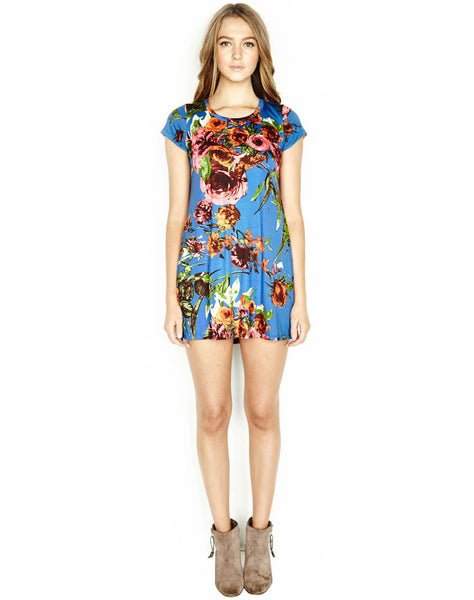 Cuba S/s Mini T-shirt Dress