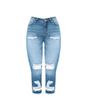 SHARON-SUMMER - Distressed Skinny Jeans