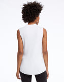 Shine Mock Sweater Tank