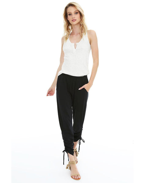 Side Shirred Pant