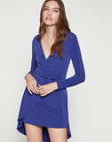 Side Tie Wrap Dress