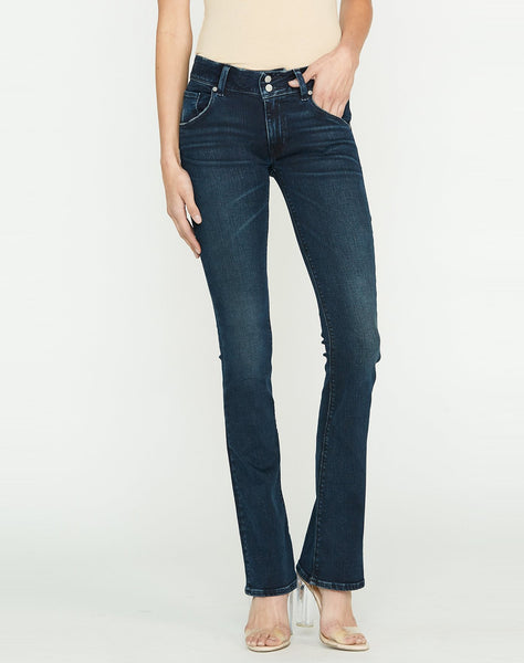 Signature Mid-Rise Bootcut Jean