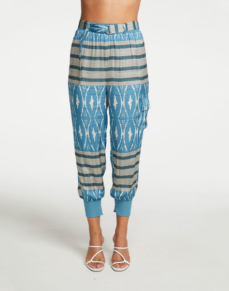 Silky Basics Relaxed Cargo Pant with Belt