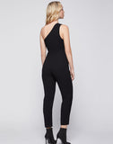 Single Shoulder Jumpsuit