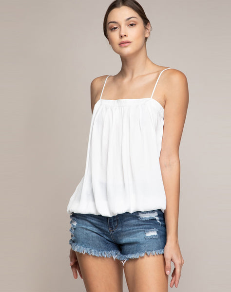 SKYE PLEATED CAMI TOP