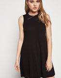 Sleeveless Back Yoke Dress