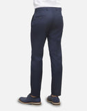 Slim Fit Suit Trousers - Blue