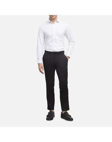Slim Fit Suit Trousers- Black
