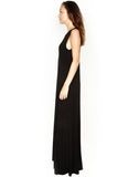 Jed Sleeveless Long Dress W/ Slit