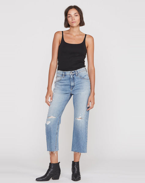 Sloane Extreme Baggy Crop Jean