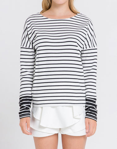 Am- Knit Regular L/slv Top