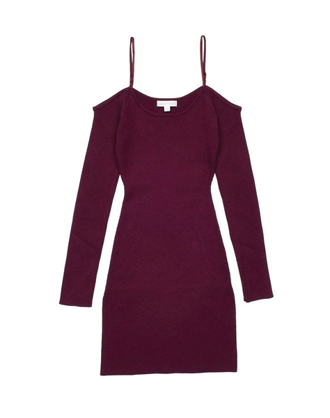 Cold Shoulder Bodycon Dress...