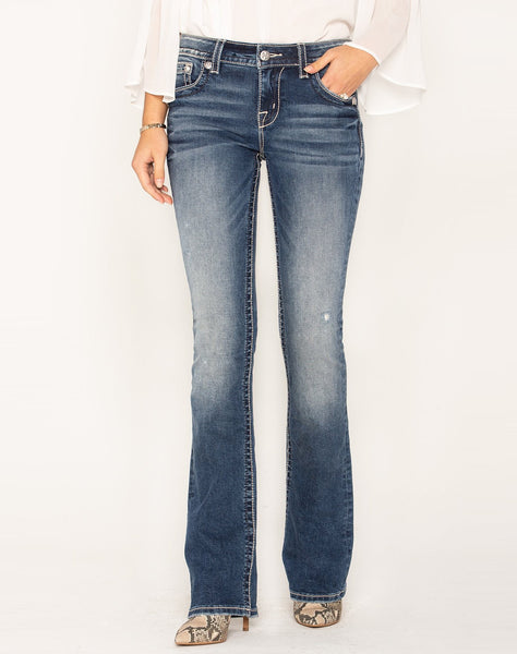 SPREAD YOUR WINGS BOOTCUT JEANS