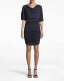 Stretchy Matte Jersey Ruched Dress