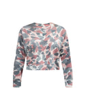 Sundry Abstract Camo Sweatshirt