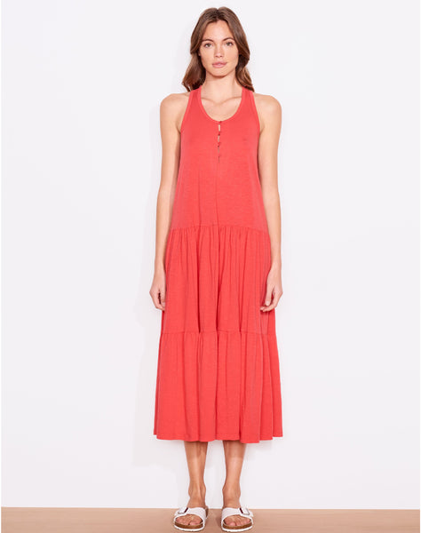 Sundry Button Front Maxi Dress