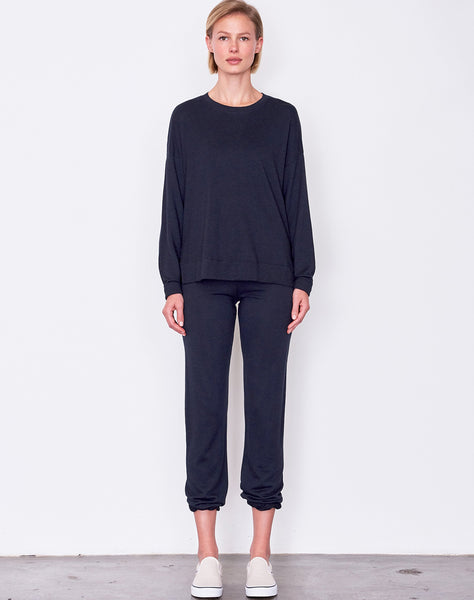 Sundry Hi Low Crew Neck