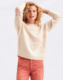 Sundry Stars Loose Knit Sweater