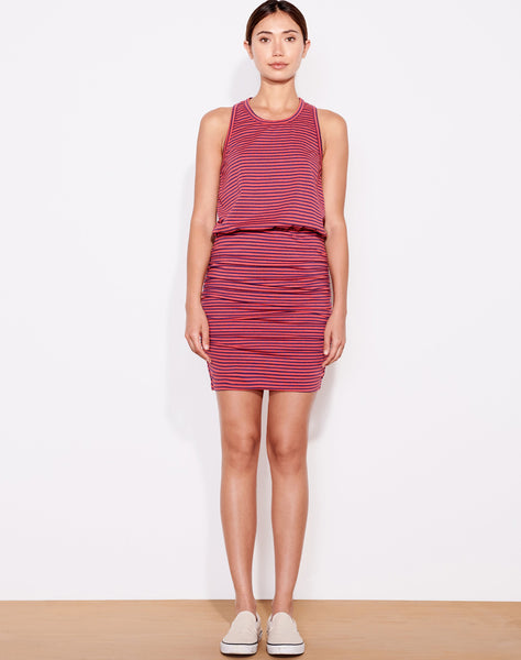 Sundry Stripes Sleeveless Dress