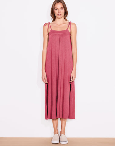 Sundry Tie Strap Midi Dress