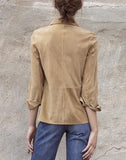 SWEET SURRENDER SUEDE SHIRT
