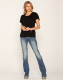 SWING MY WAY SLIM BOOTCUT JEANS